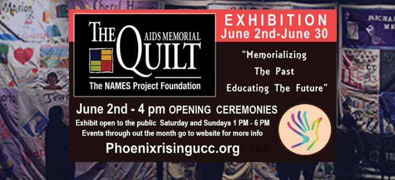 AIDS QUILT coming to prucc